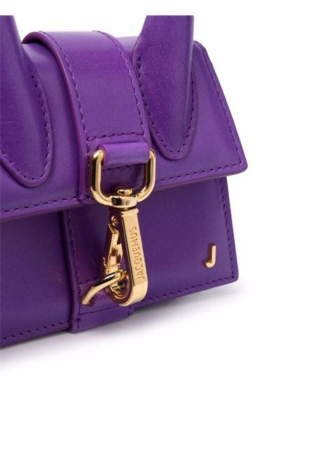 Purple Le Chiquito Montagne mini bag - unisex JACQUEMUS | 213BA1003050650