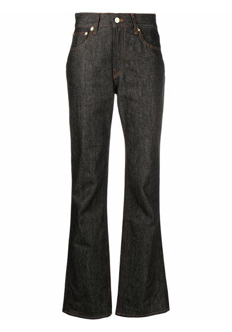 Jeans a vita alta Nîmes in blu - donna JACQUEMUS   213DE0011400390