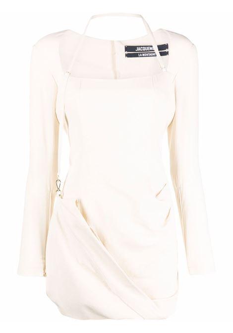 Abito la robe esca in bianco - donna JACQUEMUS | 213DR0041070110