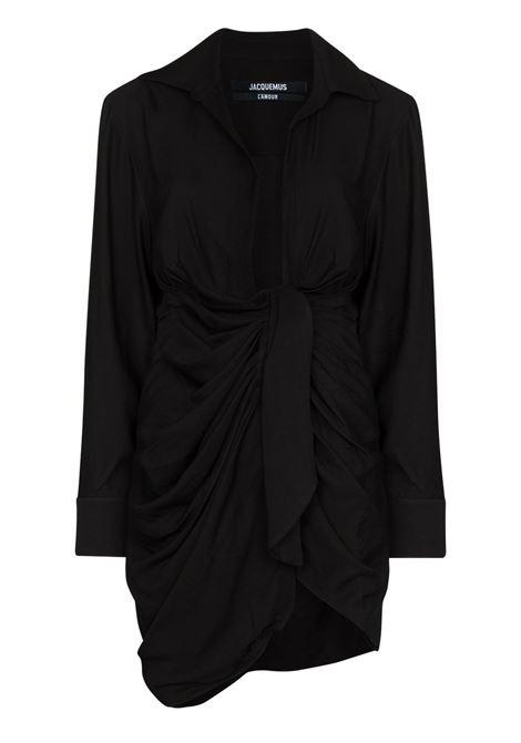 Abito mini la robe bahia in nero - donna JACQUEMUS | 213DR0091020990