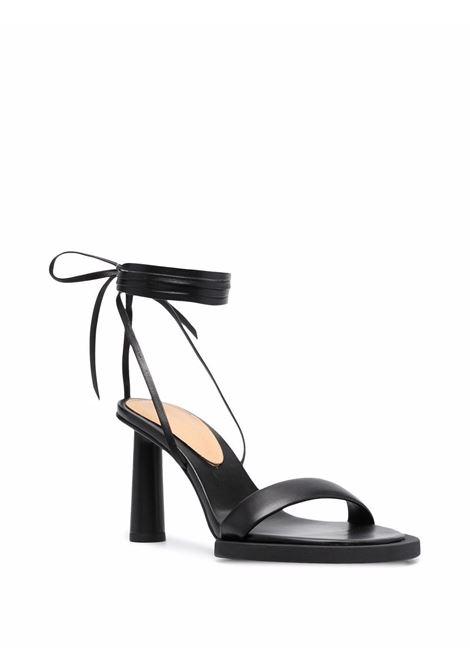 Strap sandals black- women JACQUEMUS   213FO0014040990