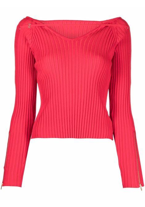 Maglione a cpste oro in rosso - donna JACQUEMUS   213KN1072190470