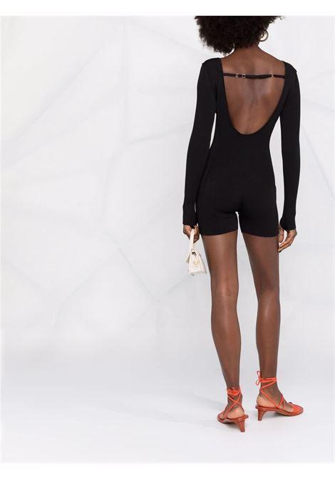 Le body yerù jumpsuit in black - women JACQUEMUS | 213KN2002190990