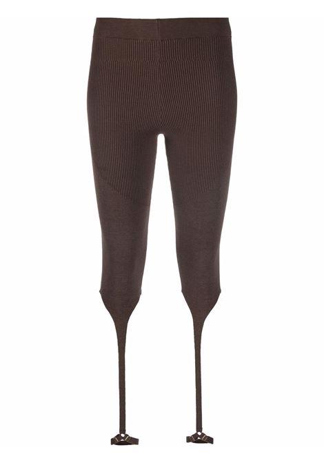 Leggings alba cin cinturini in marrone - donna JACQUEMUS | 213KN2042010880