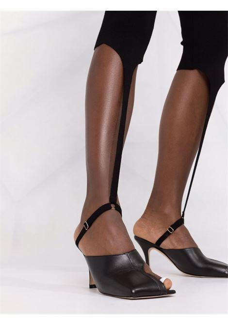 Leggings alba cin cinturini in nero - donna JACQUEMUS   213KN2042010990