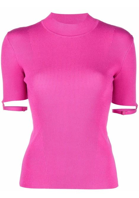 Top la maille torre in rosa -donna JACQUEMUS | 213KN5072010430