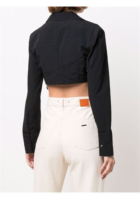 Camicia le chemise terra in nero - donna JACQUEMUS | 213SH0031280990
