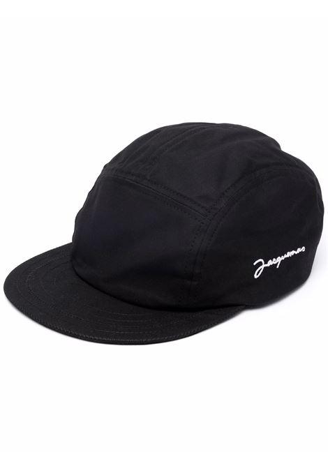 Cappello da baseball la casquette porte in nero - uomo JACQUEMUS   216AC0085030990