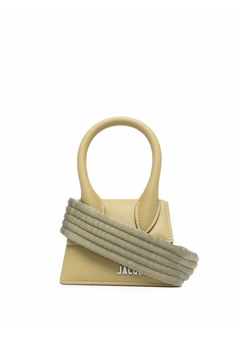 Le chiquito mini bag in khaki green - men  JACQUEMUS | 216BA0013070530