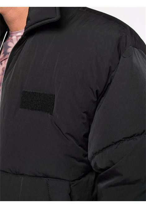 Black oversized padded jacket - men  JACQUEMUS | 216BL0031320990