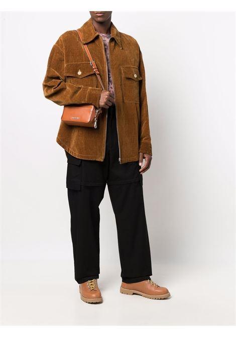 Brown le blouson montagne overshirt - men  JACQUEMUS | 216BL1021110850