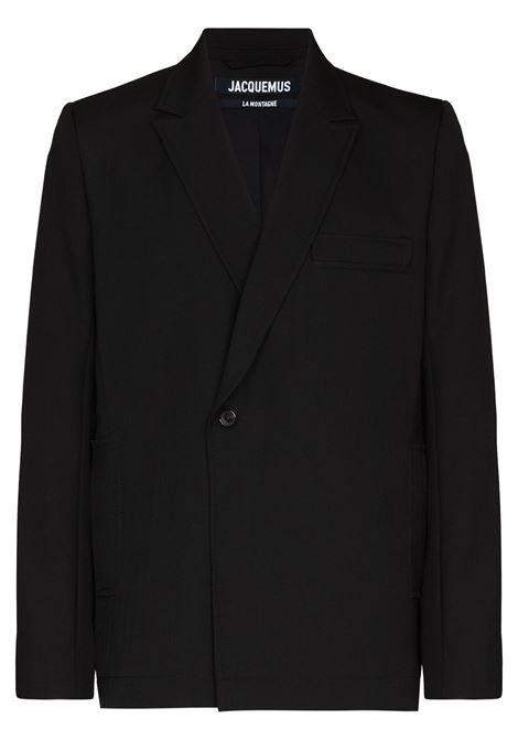 Black la veste moulin blazer - men JACQUEMUS | 216JA0011270990