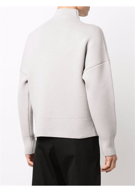 Le maille jannu jumper in grey - men  JACQUEMUS | 216KN1032080910