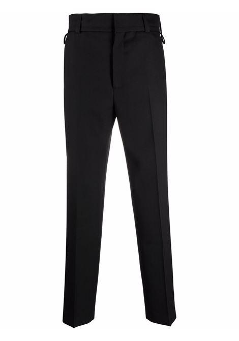 Black le pantalon de costume straight-leg trousers - men  JACQUEMUS | 216PA0031270990