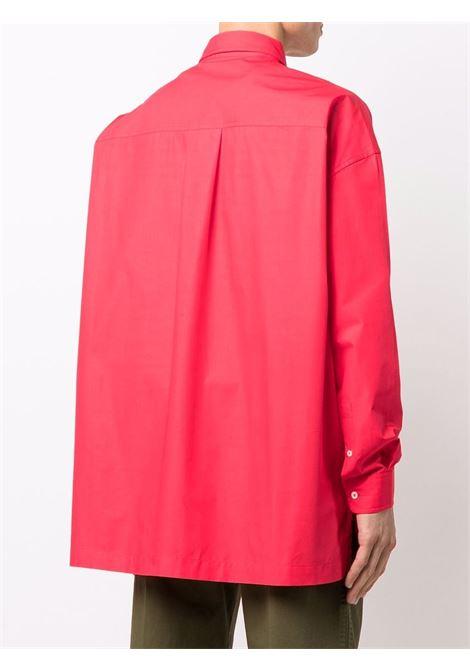 Le chemise toutou shirt in red - men  JACQUEMUS | 216SH0041050470