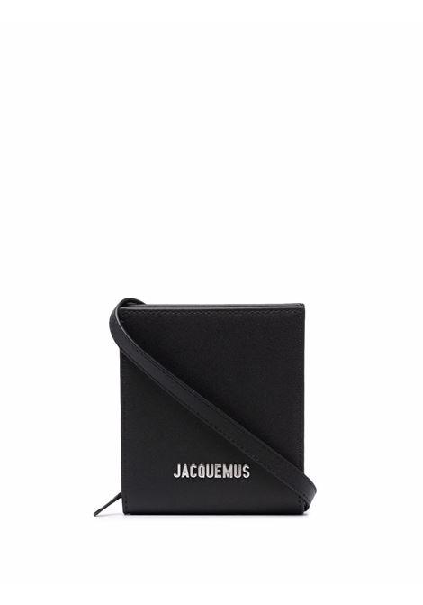Le Gadjo mini bag in black - men  JACQUEMUS | 216SL0023070990