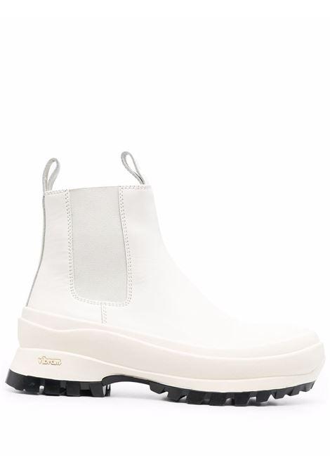 Off-white ridged-sole ankle boots - women  JIL SANDER | JP33010A14513100