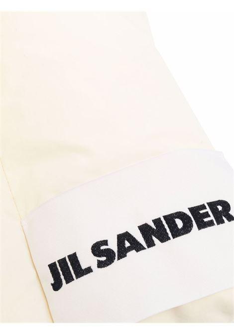 Sciarpa imbottita con applicazione in beige - donna JIL SANDER   JPPT590294WT441100279