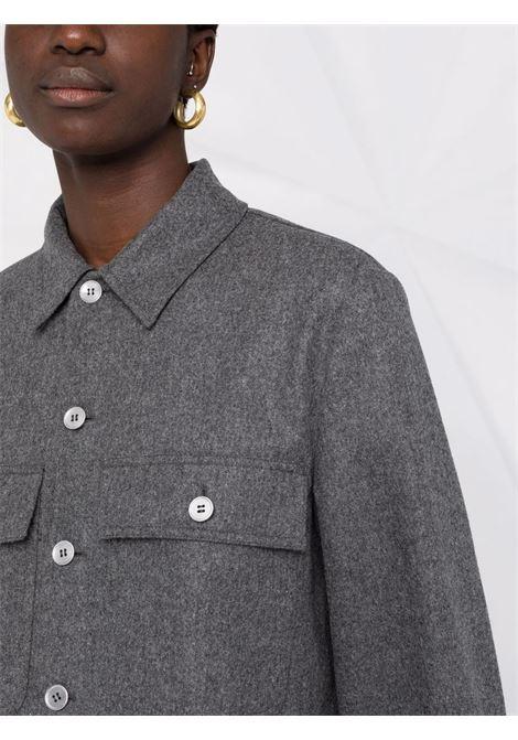 Grey long-sleeved shirt - women  JIL SANDER | JPPT600105WT212500030