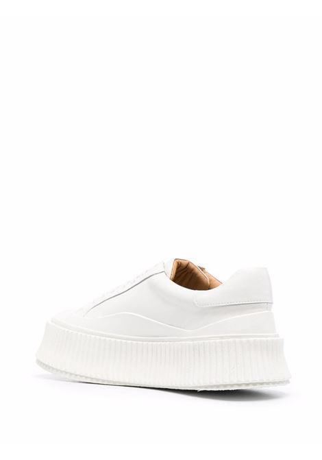 Sneakers con suola chunky in bianco - donna JIL SANDER | JS32108A14021100