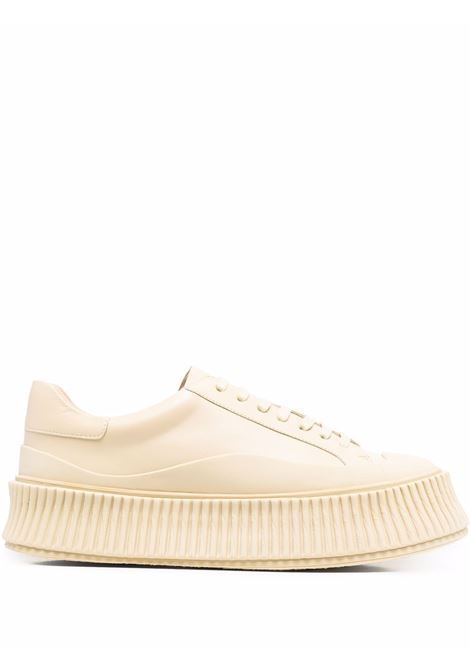 Sneakers con suola chunky in beige - donna JIL SANDER | JS32108A14023278