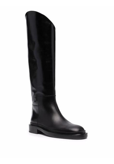 Stivali con tacco largo in nero - donna JIL SANDER | JS35043A14030001