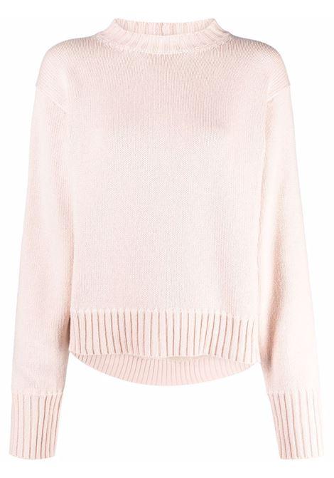 Pink cashmere-blend knitted jumper - women  JIL SANDER | JSPT752016WTY11048684