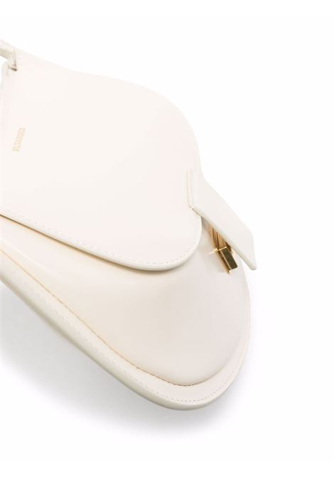 Borsa a tracolla crescent in avorio - donna JIL SANDER | JSPT853433WTB69158N101