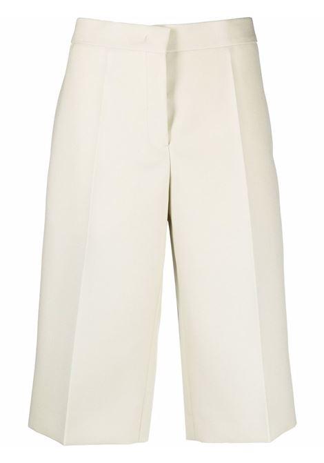 Pantaloni al ginocchio color avorio - donna JIL SANDER   JSWT306113WT201000110