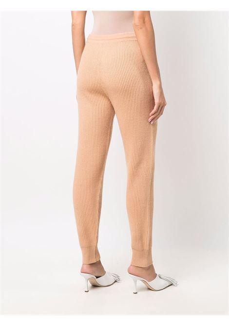Ribbed-knit track trousers in butterscotch - women  JONATHAN SIMKHAI   4214022KBTTRSCTCH