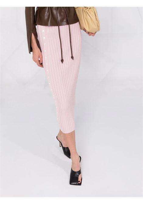 Light purple ribbed-knit pencil skirt - women  JONATHAN SIMKHAI   5213028KLLC