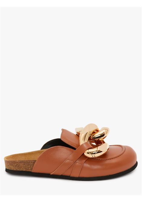 Brown chain loafer mules - women JW ANDERSON | AN35004A12142509