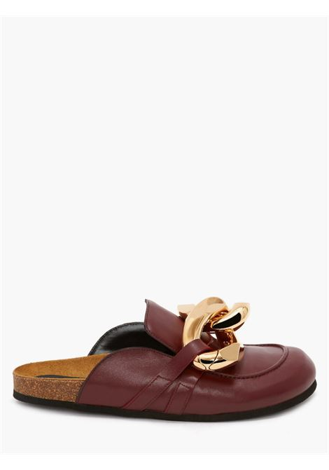 Brown chain loafer mules - women JW ANDERSON | AN35004A14001679