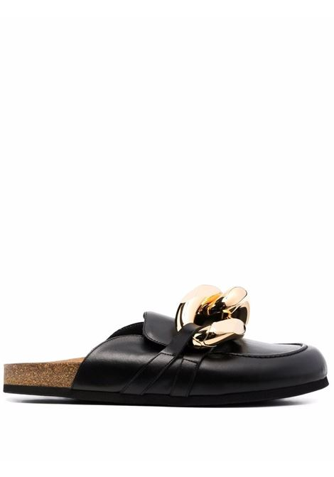 Black chain loafer mules - men JW ANDERSON | Mules | AN35504A12140999