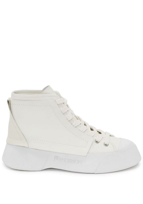 White panelled high-top sneakers - men  JW ANDERSON | ANM37500A14050100