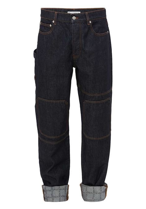 Turn up workwear jeans blue - men JW ANDERSON | Jeans | DT0020PG0350870