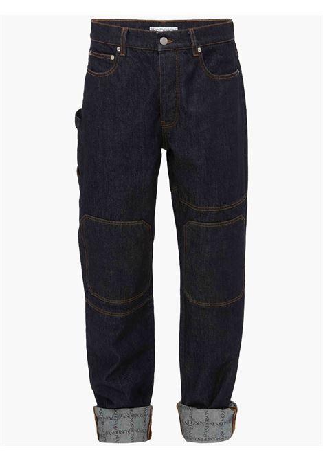 Turn up workwear jeans blue - men JW ANDERSON | DT0020PG0350870