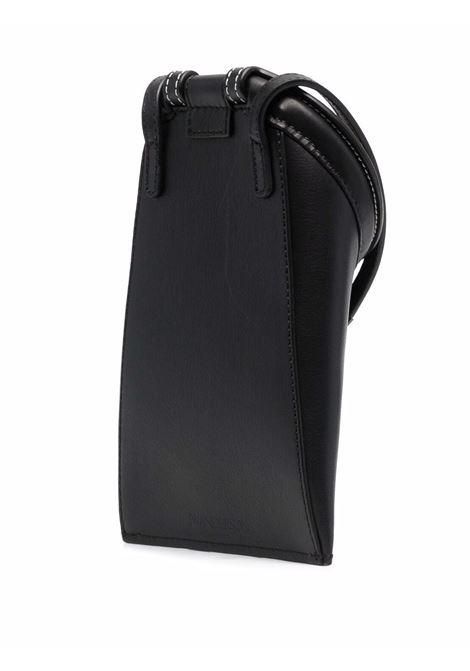Black lid pocket crossbody bag - women  JW ANDERSON   HB0364LA0001999