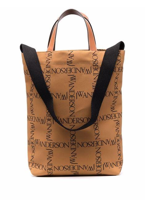 Borsa tote con logo all-over - donna JW ANDERSON | HB0396FA0081252