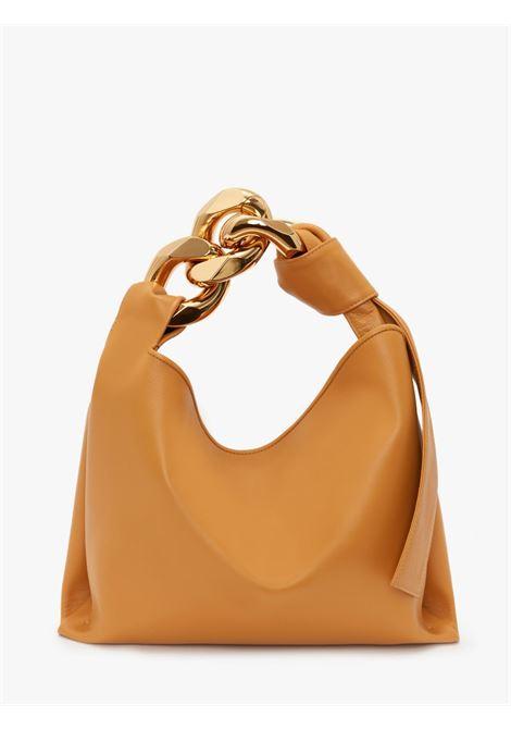 Small chain hobo shoulder bag mustard - unisex JW ANDERSON | HB0400LA0019251