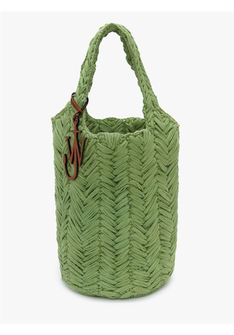 Green knitted hand bag -women  JW ANDERSON | HB0419FA0110500