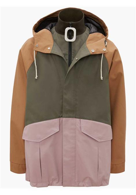 JWA puller colorblocked parka jacket - men  JW ANDERSON | JK0120PG0603582