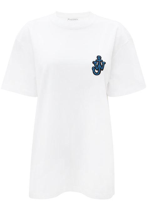 Anchor patch T-shirt white - men JW ANDERSON | T-shirt | JT0033PG0482001