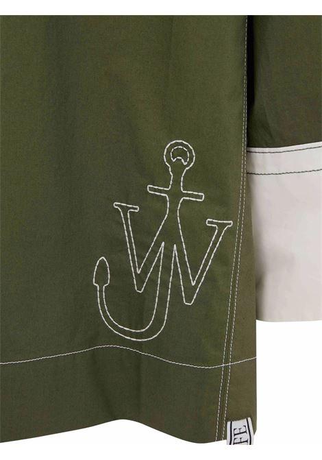 Green oscar wilde jwa puller parka - men  JW ANDERSON | TP0169PG0732500