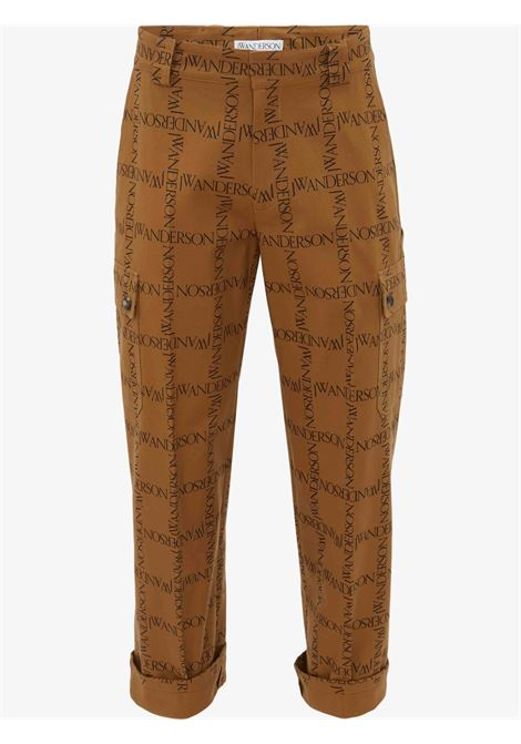 Jeans with all-over logo - men JW ANDERSON | TR0158PG0664619