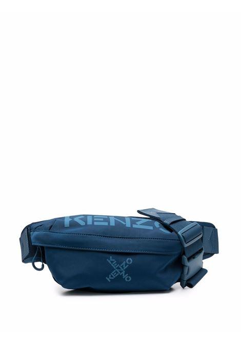 Marsupio con logo in blu - uomo KENZO   FA65SA221F2178