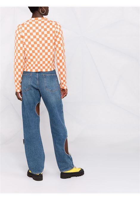 Checkerboard-print jumper - women KENZO | FB62PU6003CD09