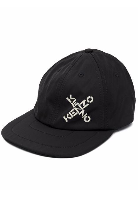 Cappello con logo in nero - uomo KENZO | FB65AC223F2199