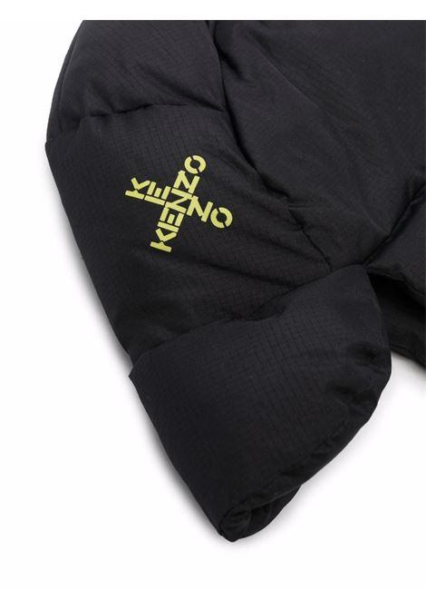 Cappello imbottito con stampa in nero - uomo KENZO | FB65AC234F3899