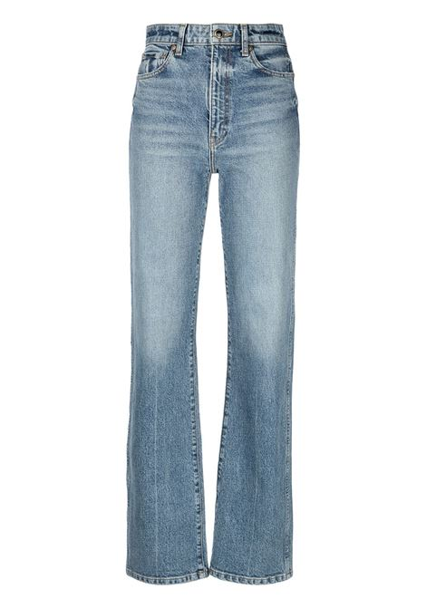Light blue Daniella high-waisted denim jeans - women  KHAITE | 1032076